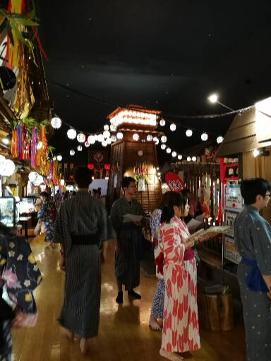 onsen d'Odaiba : spa japonais de sources chaudes